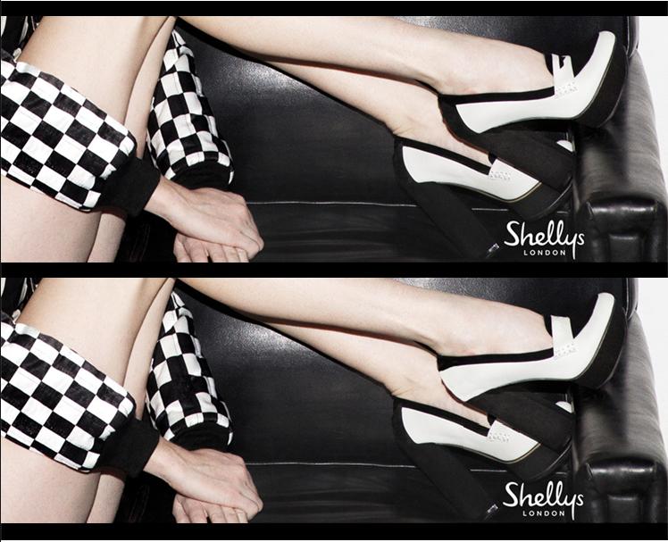 Zapatos Invierno 2014: Tendencia Blanco y Negro.