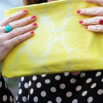 dots and yellow
