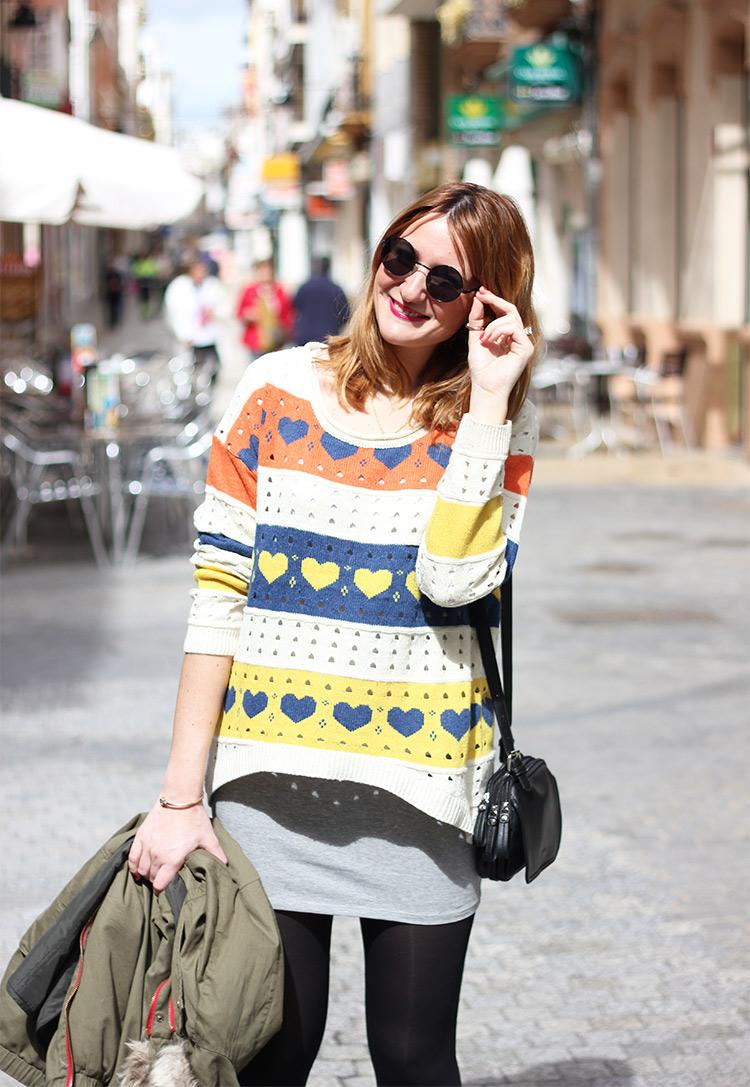 Heart Sweater Siguemiestilo