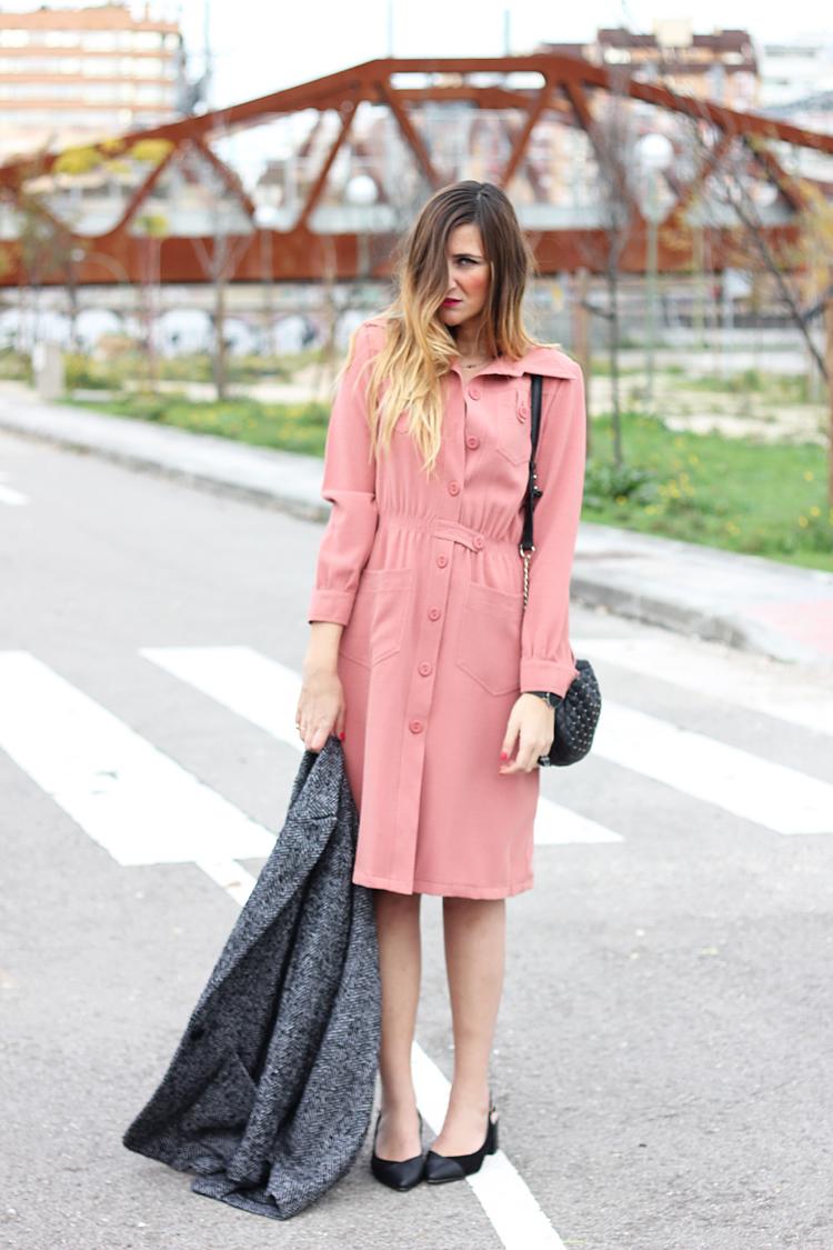 street-style-pink-dress