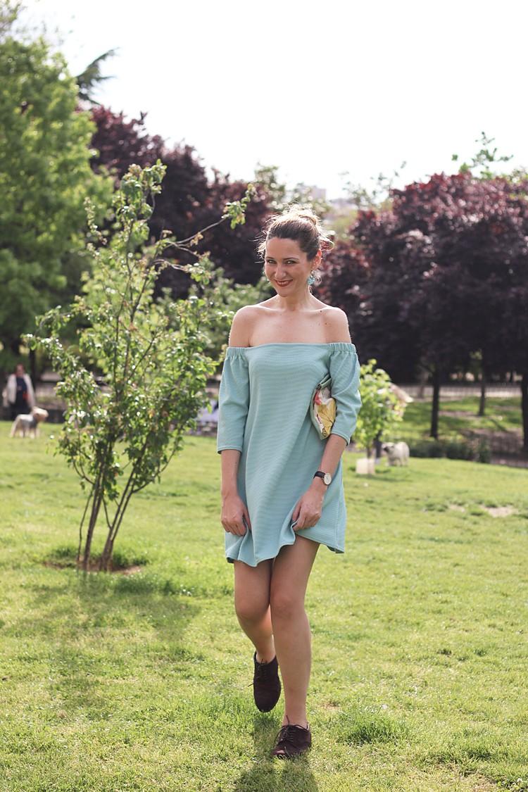 blue-street-style-dress