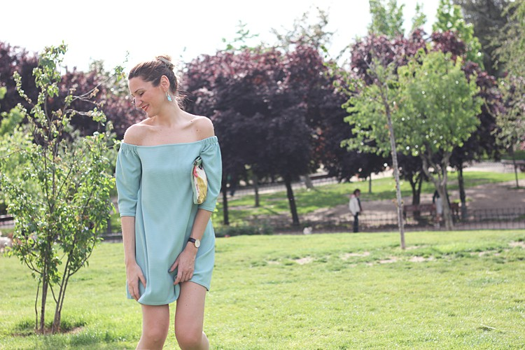 light-blue-dress-off-shoulder