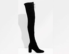 Botas 'over the knee'