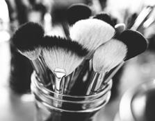 Una brocha de maquillaje para cada uso
