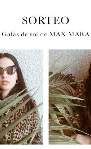 SORTEO MAX MARA: las gafas de sol más espectaculares