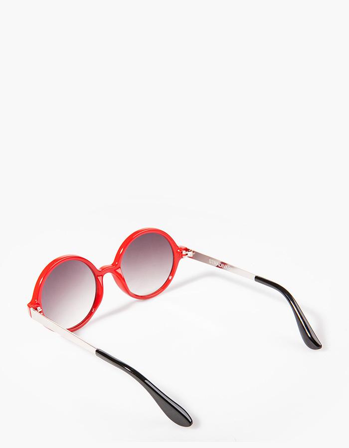 gafas de sol rojas stradivarius