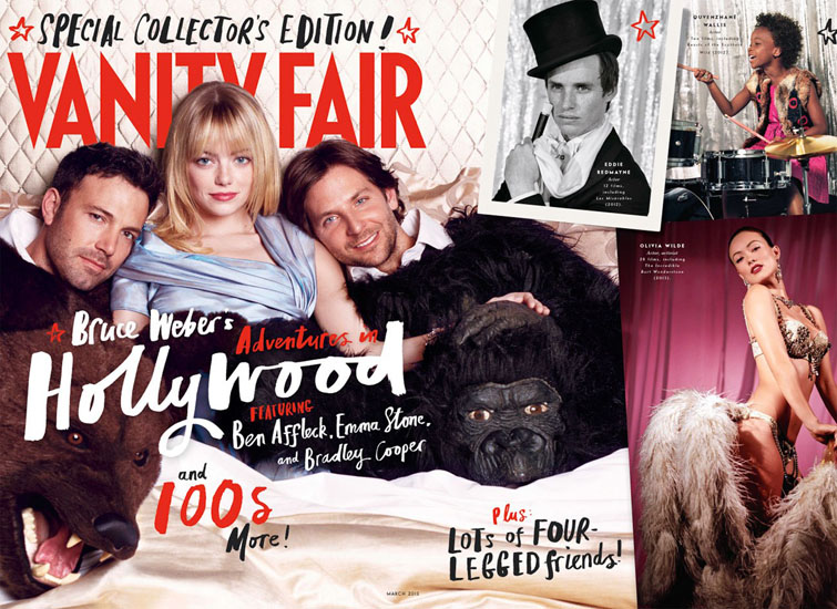 vanity fair hollywood issue