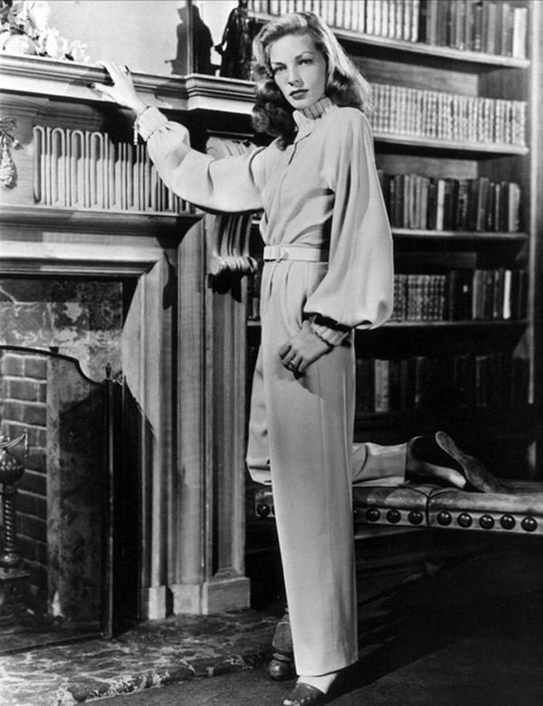 Inspiraci 243 N A 241 Os 40 El Estilo De Lauren Bacall Sin