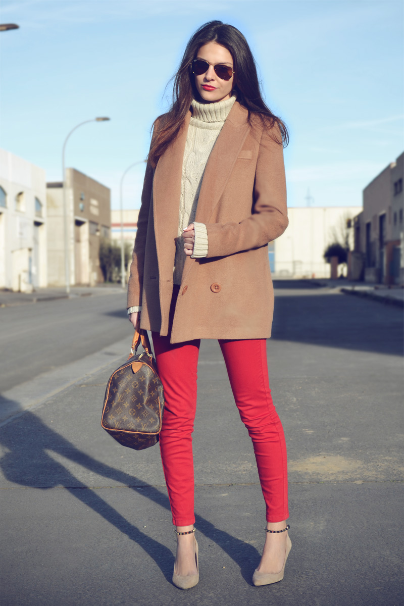 CAMEL + RED-5265-stylissim