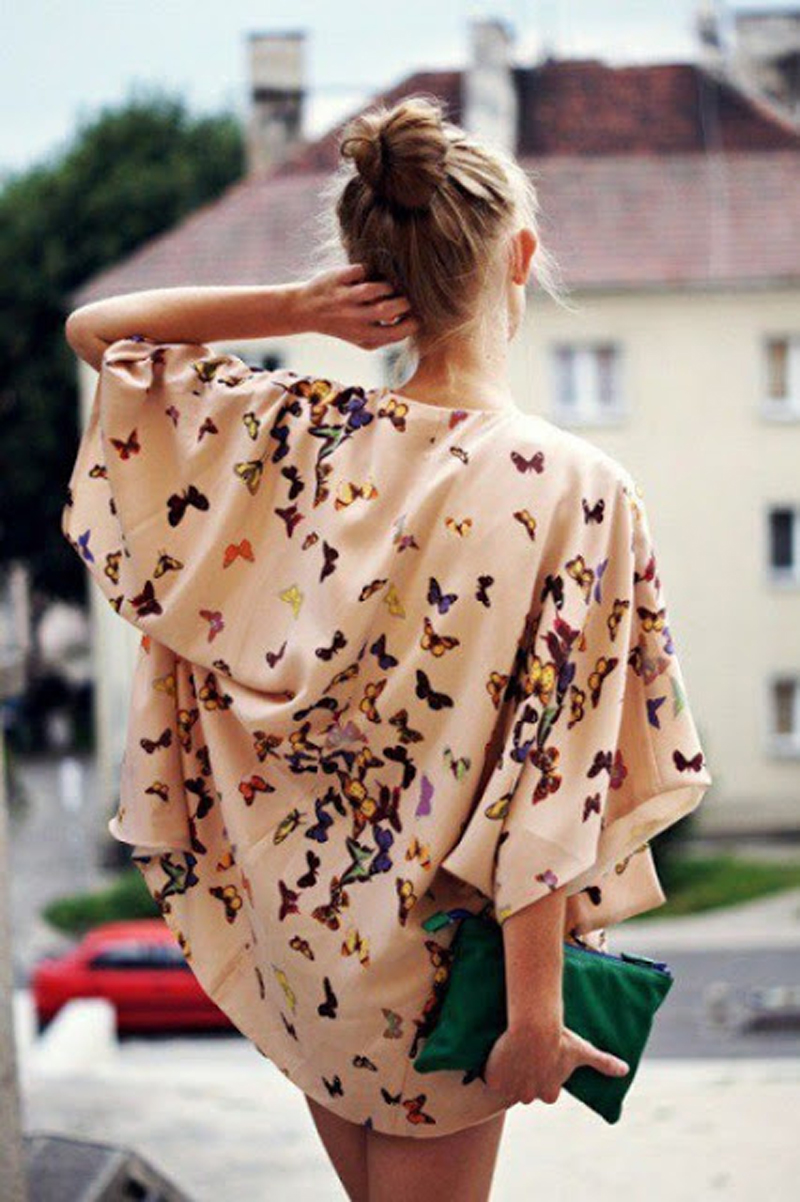 Trend Hairstyle For Man: TREND ALERT!: KIMONO STYLE INSPIRATION, SHOPPING BAG
