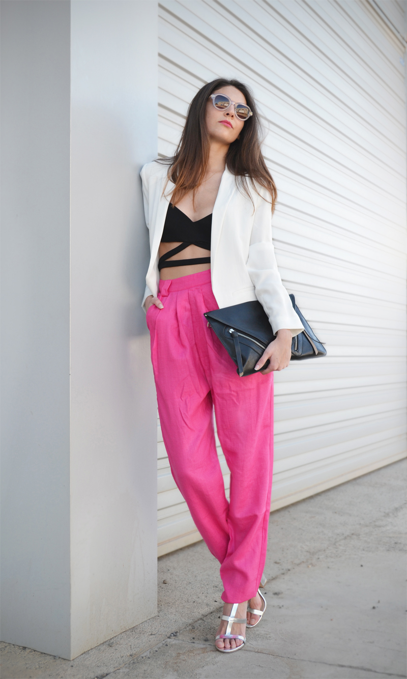 CROP TOP + HIGH WAIST PANTS-6194-stylissim
