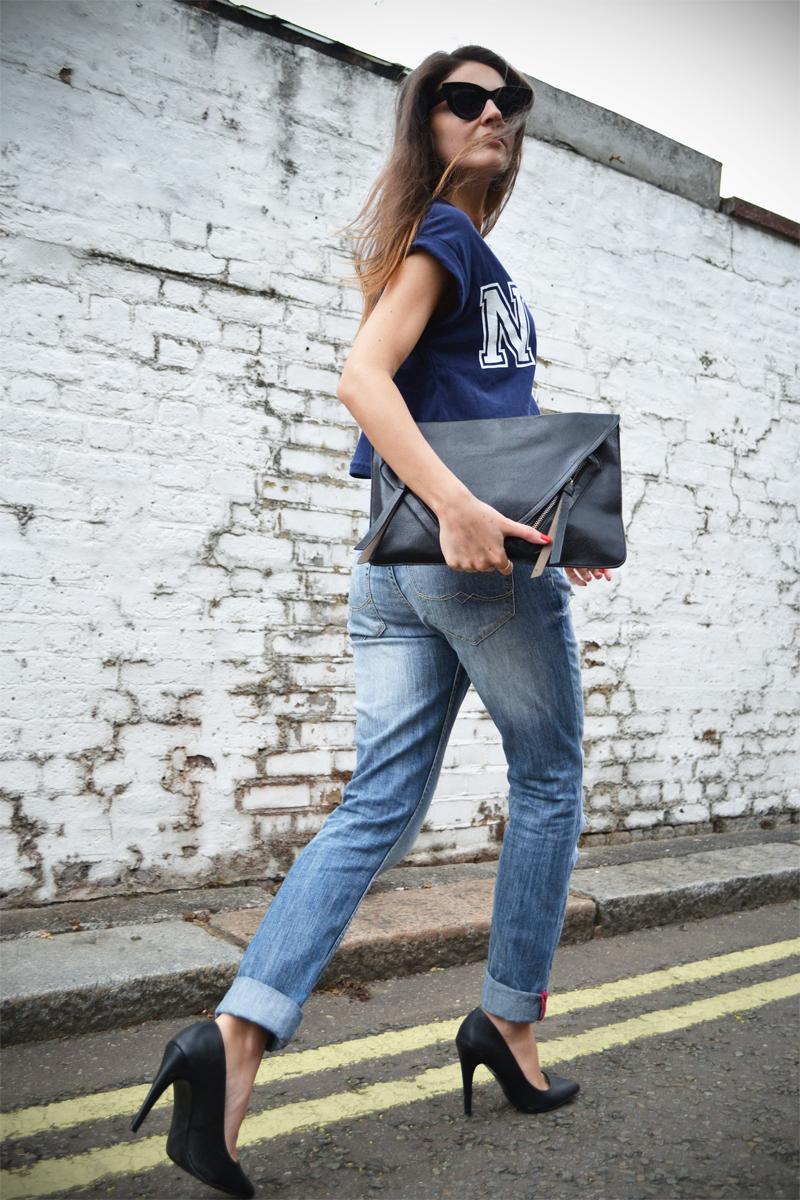 boyfriend jeans crop top7