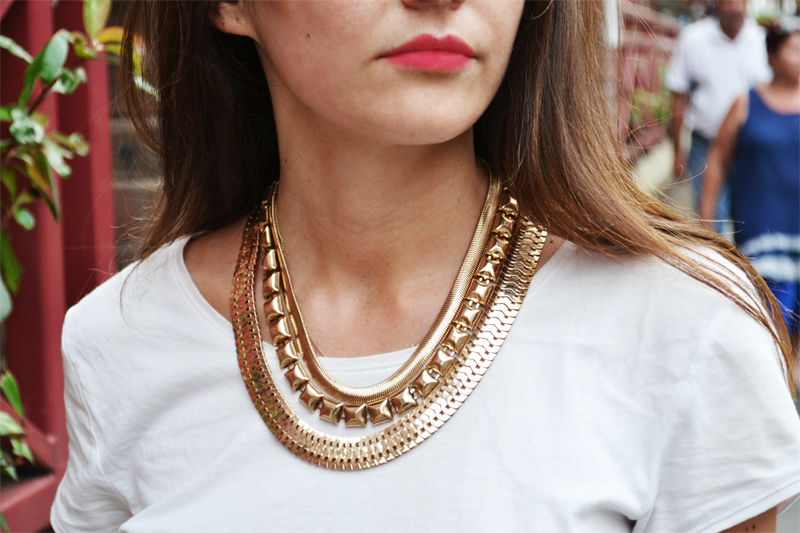 cleopatra gold necklace