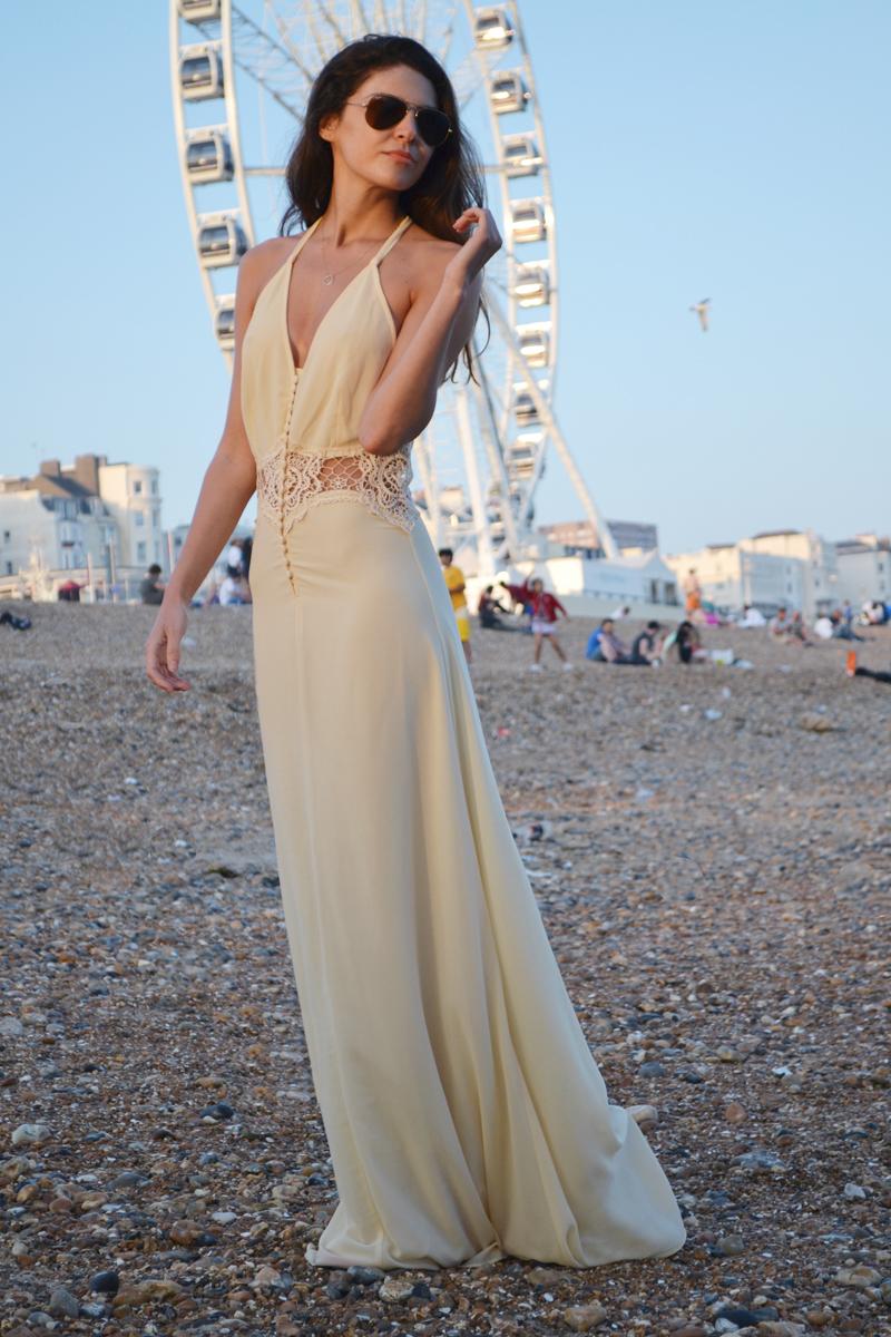 long dress weeding