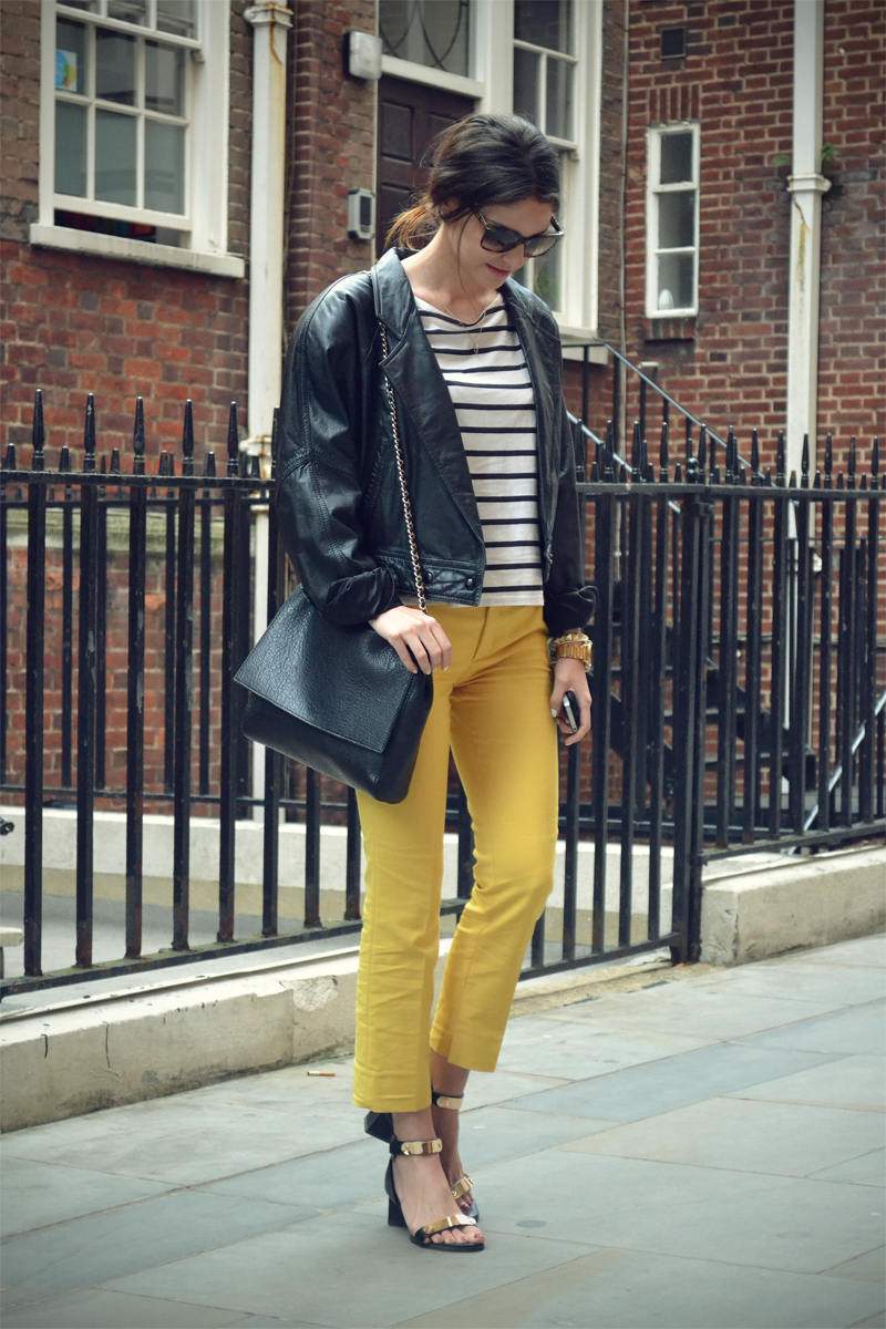yellow and stripes 2