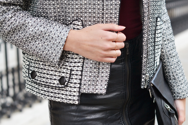 details sandro jacket
