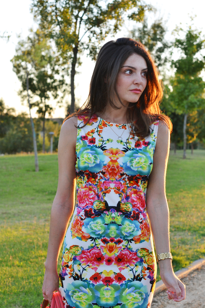flowered dress9