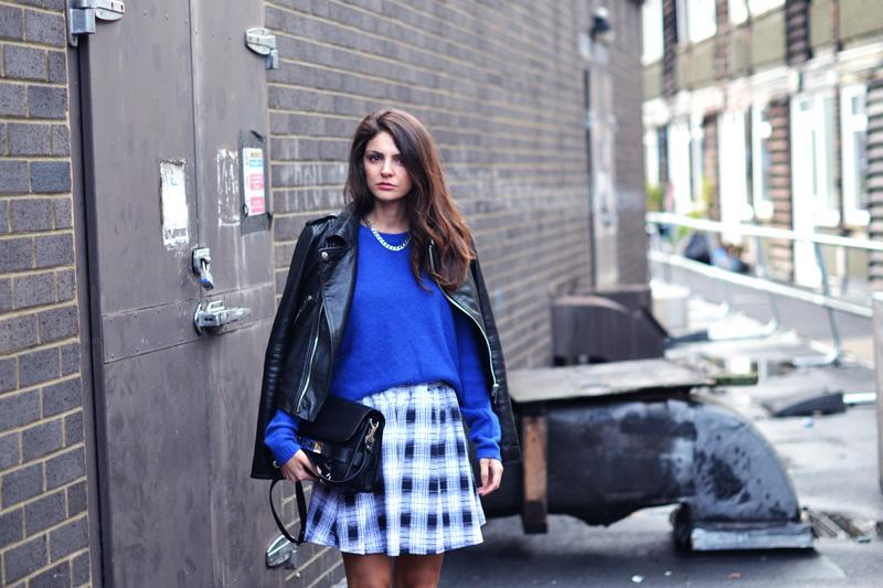 tartan skirt. 3