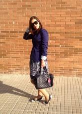 Working girl: Flower Skirt-744-lauryn84