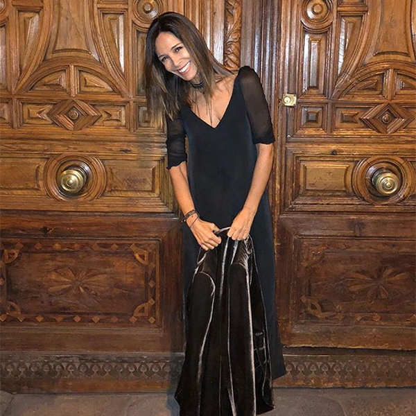 Lydia Bosch con vestido de T.ba