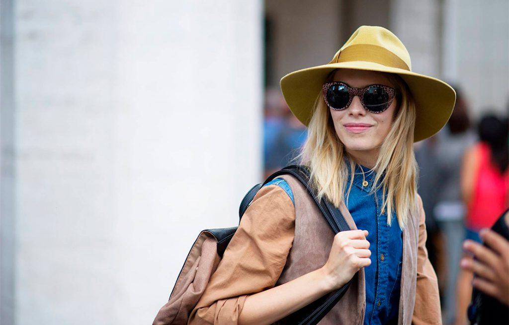 Usar sombrero en invierno