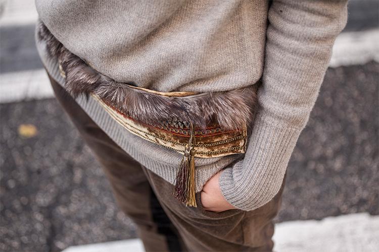 Cinturón para look de nochebuena