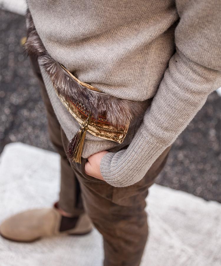 Pantalones bombachos marrones