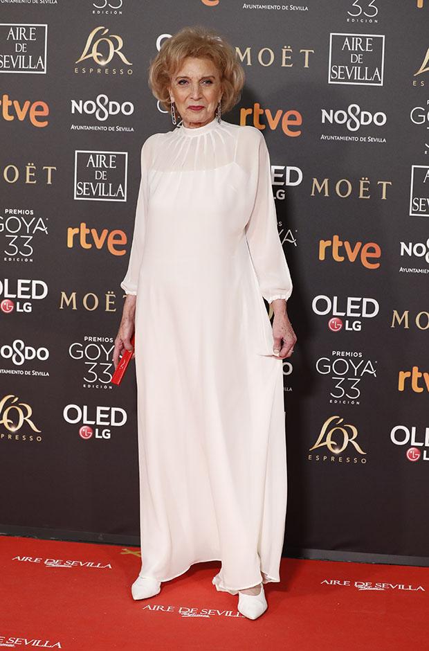Marisa Paredes en los Premios Goya 2019