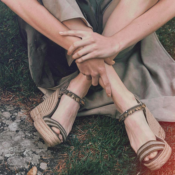 sandalias con cuna tba