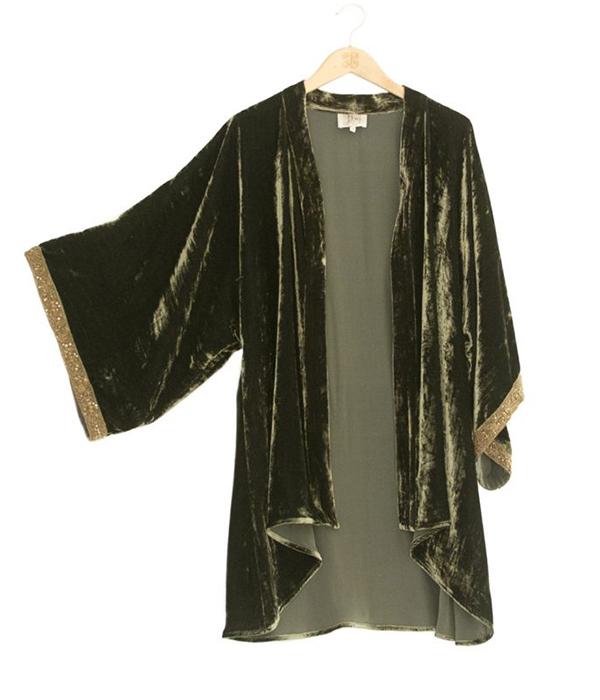 kimono de terciopelo tba
