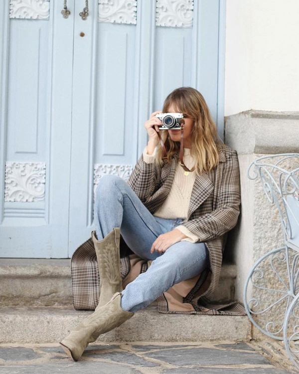 botas camperas grises my daily style