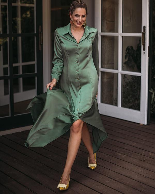 vestido camisero miss cavalier
