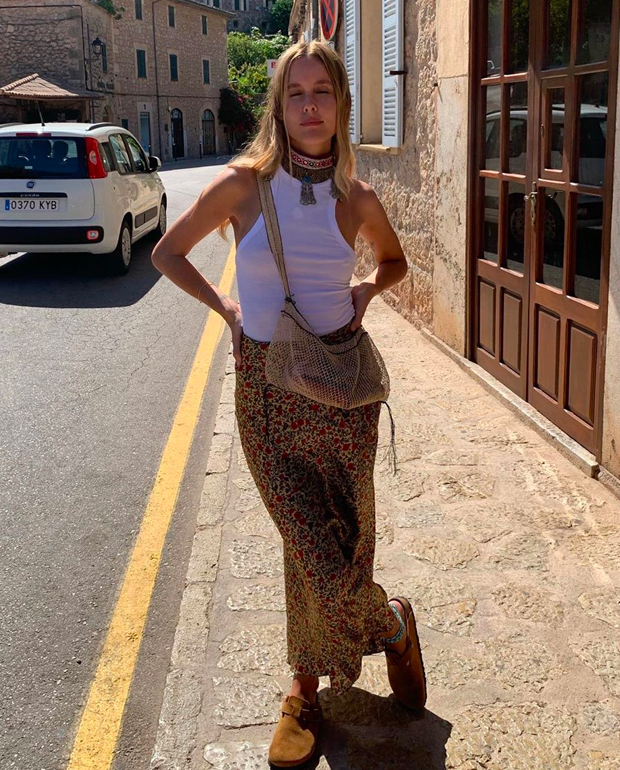 faldas fluidas Lucia Cuesta