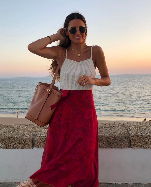 faldas midi María Valdés