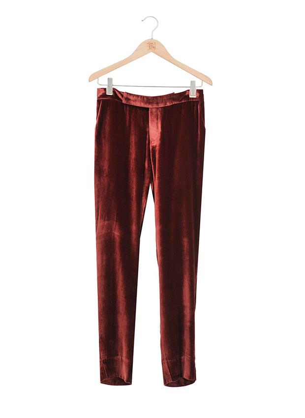 Pantalones de terciopelo para Looks de primavera