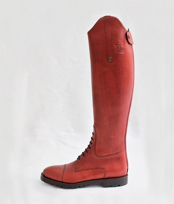 Botas rojas de T.ba
