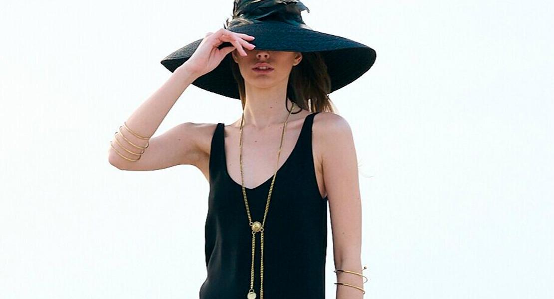 Vestido negro de T.ba