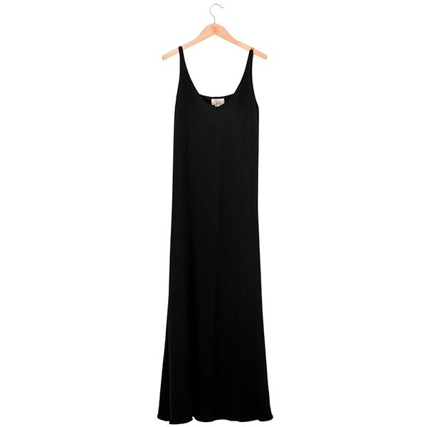 © T.ba Vestido negro largo