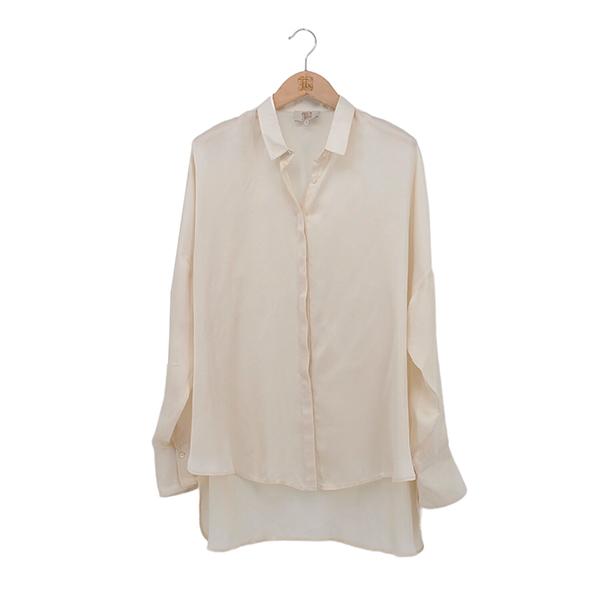 Camisa Jazz Satén Cream