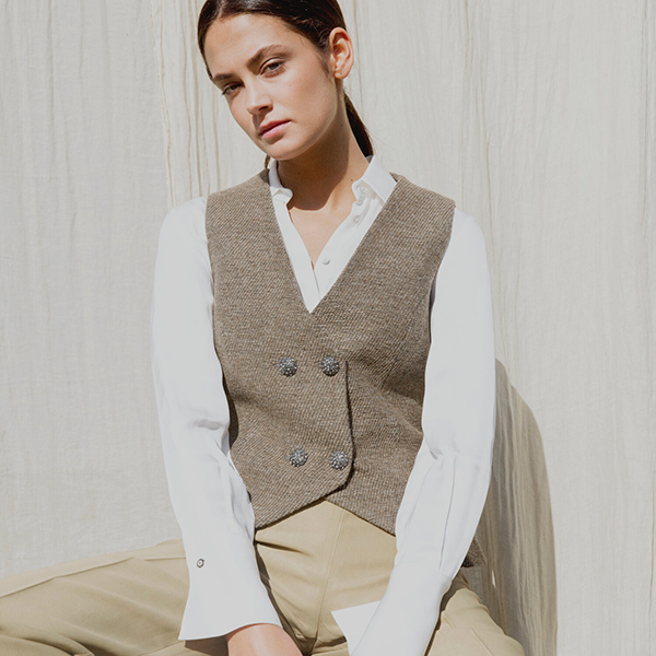 © T.ba chaleco y camisa imprescindibles de otoño