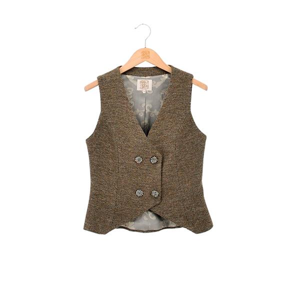 Chaleco Gipsy en Tweed