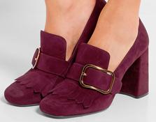 Los zapatos se llenan de hebillas