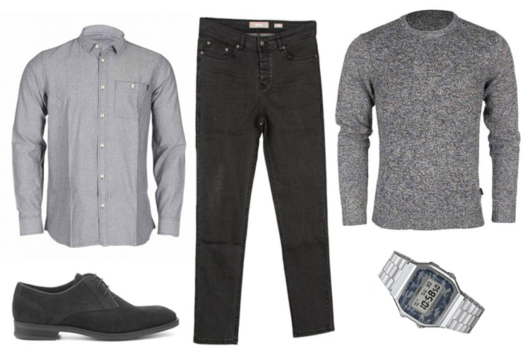 Look del día para Hombre: Total Grey Look-1448-asos