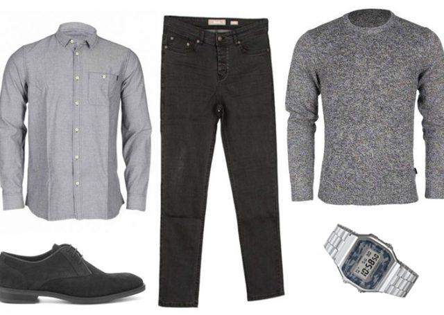 Look del día para Hombre: Total Grey Look