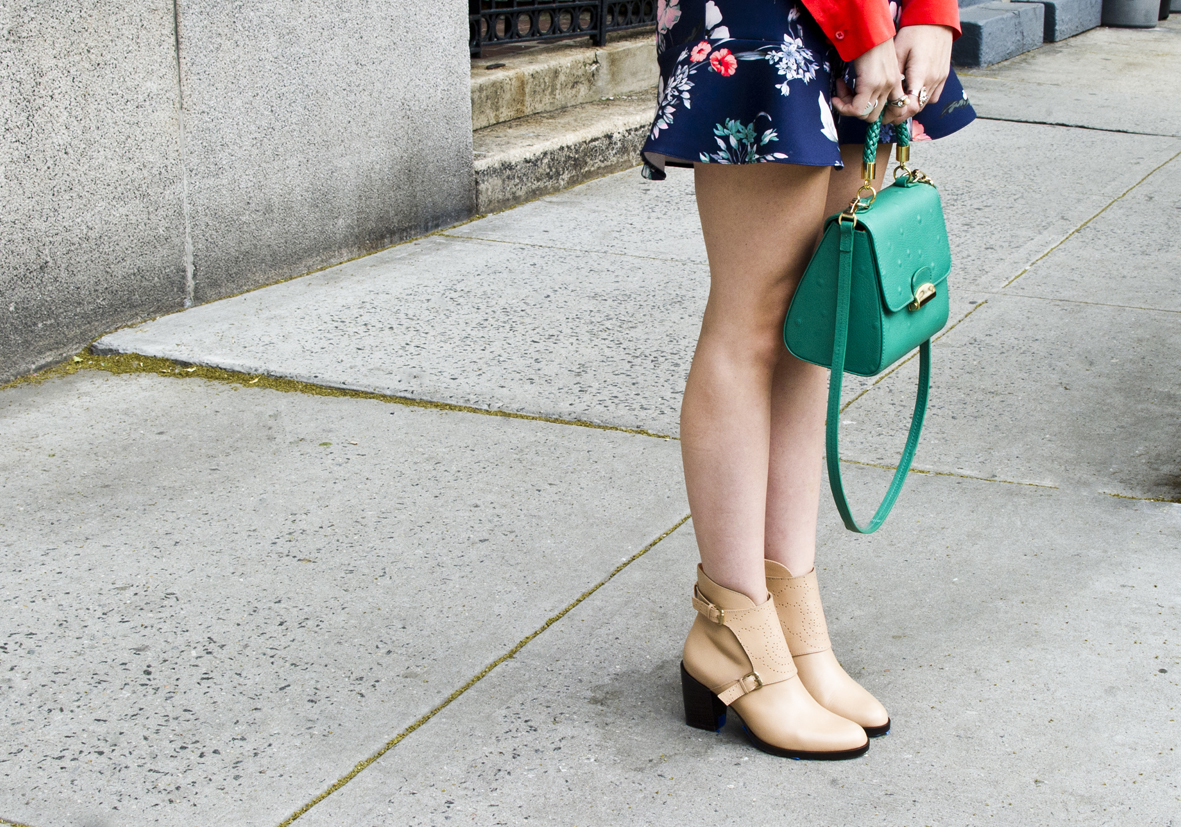 2 Emerald Green Tulip Bag -2