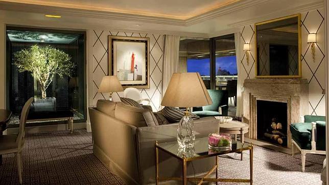 hoteles delujo madrid