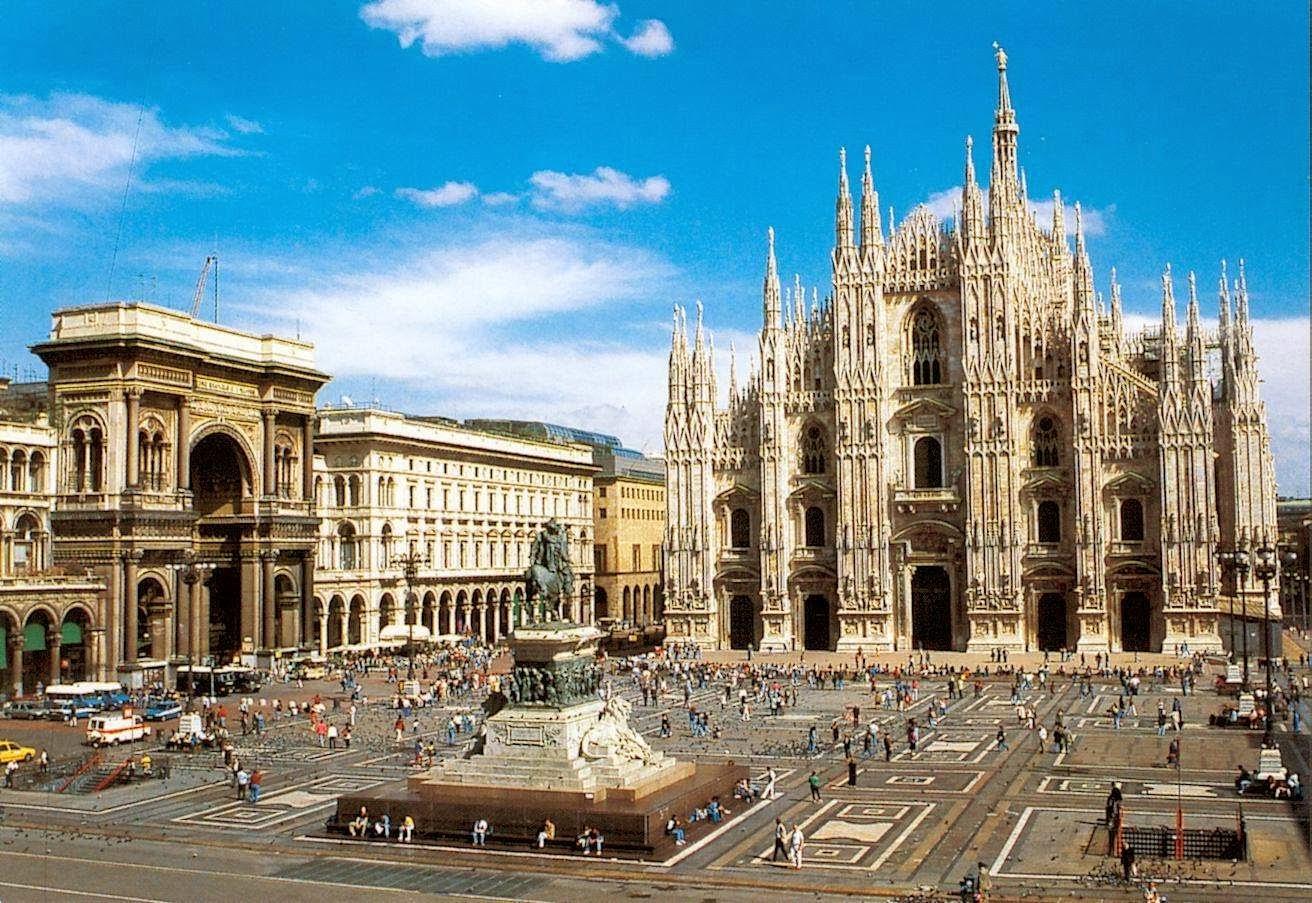 casco antiguo de Milán