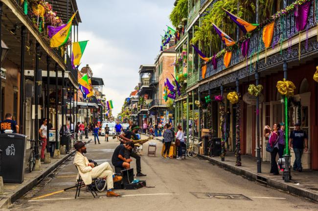 Nueva Orleans en USA