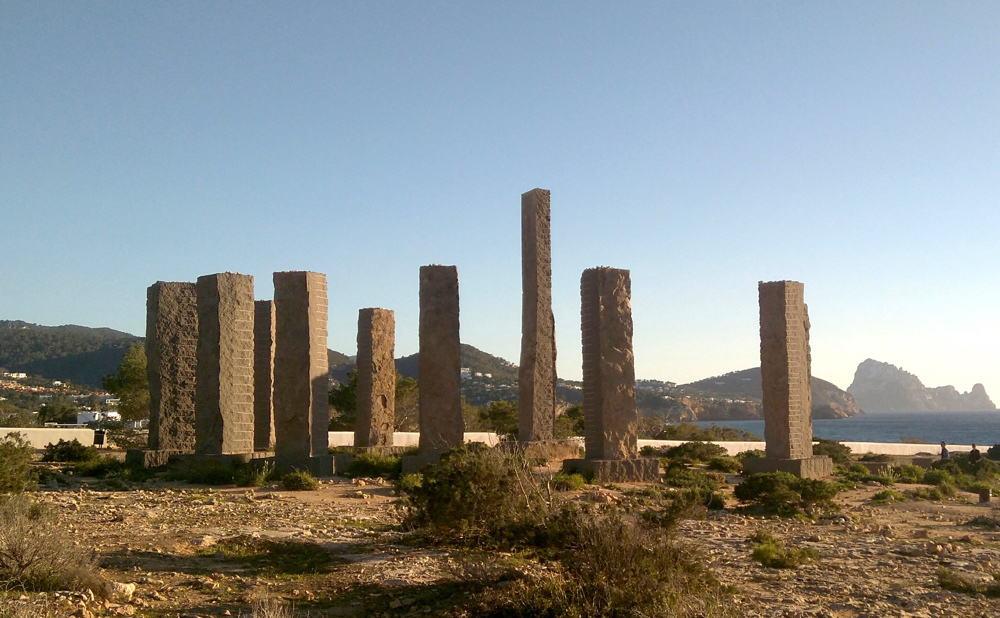 El monumento de Cala Llentia