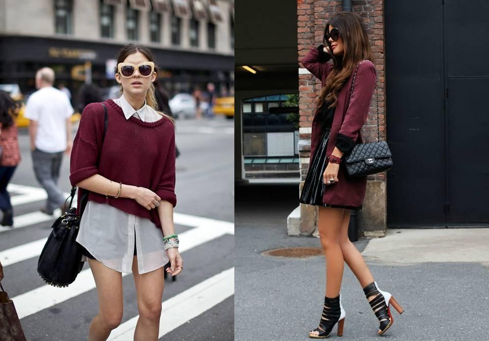 Street style: Burgundy (burdeos de toda la vida).-48418-vogliamoda